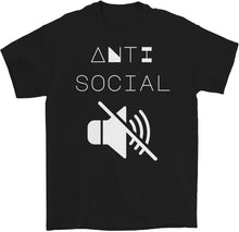 Load image into Gallery viewer, Anti Social T-Shirt by palm-treat.myshopify.com for sale online now - the latest Vaporwave & Soft Grunge Clothing