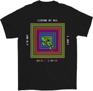 Barely Survive 8-Bit Gamer T-Shirt