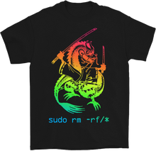 Load image into Gallery viewer, Sudo rm -rf/* Dragon T-Shirt