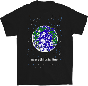 Everything is Fine 8-Bit T-shirt