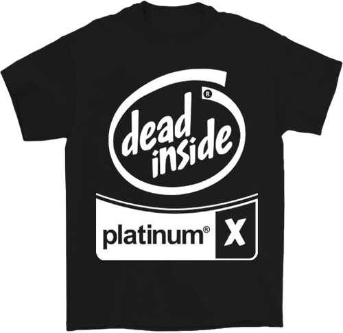 Whiteout Dead Inside T-shirt