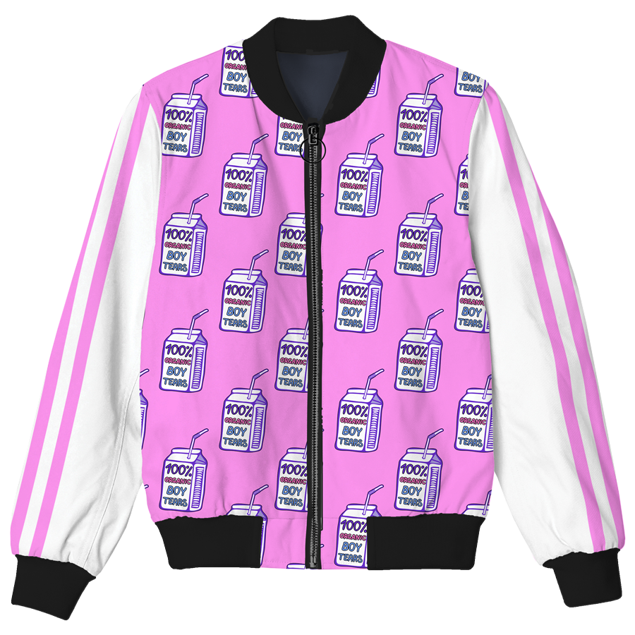 Boy Tears Bomber Jacket