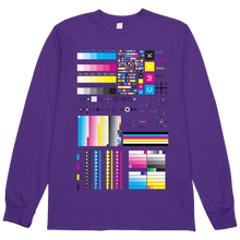 Load image into Gallery viewer, CMYK Vaporwave Artist's L/S Tee
