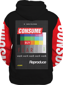 Consume All Over Hoodie