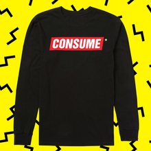 Load image into Gallery viewer, NIHILIST MEMES CONSUME Long Sleeve