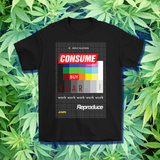 Consume, Reproduce, Fear Late Stage Capitalism Vaporwave Aesthetic T-shirt