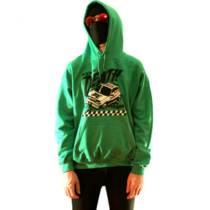 Cyberpunk Death Race Hoodie by palm-treat.myshopify.com for sale online now - the latest Vaporwave & Soft Grunge Clothing