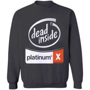 White Out Dead Inside Crewneck Sweatshirt