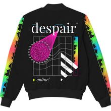 Load image into Gallery viewer, Despair Online Bomber Jacket