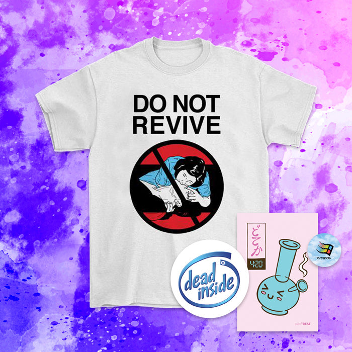Do Not Revive T-Shirt - Medium by palm-treat.myshopify.com for sale online now - the latest Vaporwave & Soft Grunge Clothing