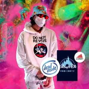 Do Not Revive Hoodie - Large by palm-treat.myshopify.com for sale online now - the latest Vaporwave & Soft Grunge Clothing