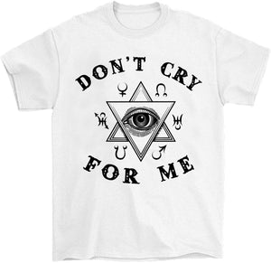 don't cry for me qijia shirt