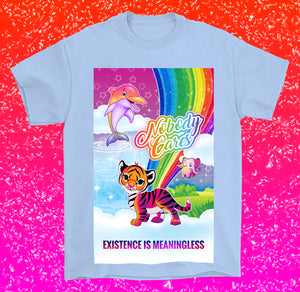 pastel goth vapor life is meaningless shirt