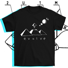 Load image into Gallery viewer, Evolve T-shirt Black