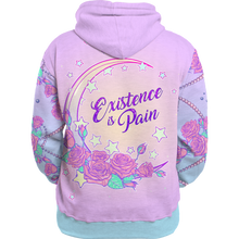 Load image into Gallery viewer, Existence is Pain All Over Hoodie