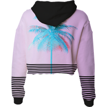 Load image into Gallery viewer, Palm Xpress Crop Top Hoodie