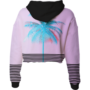 Palm Xpress Crop Top Hoodie