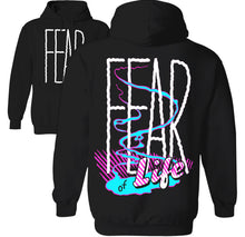 Load image into Gallery viewer, paranoid anxiety fear hoodie
