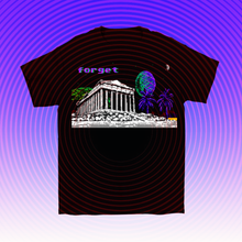 Load image into Gallery viewer, 8-bit Stories Forget T-shirt by palm-treat.myshopify.com for sale online now - the latest Vaporwave & Soft Grunge Clothing
