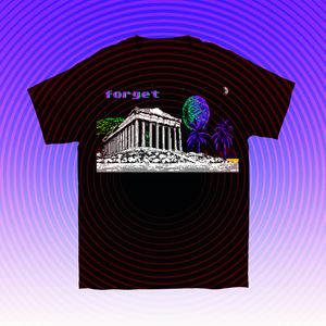 8-bit Stories Forget T-shirt by palm-treat.myshopify.com for sale online now - the latest Vaporwave & Soft Grunge Clothing