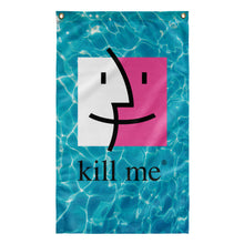 Load image into Gallery viewer, Kill Me Tapestry by palm-treat.myshopify.com for sale online now - the latest Vaporwave & Soft Grunge Clothing