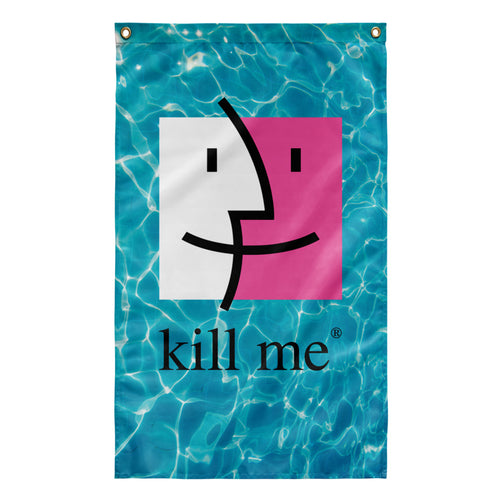 Kill Me Tapestry by palm-treat.myshopify.com for sale online now - the latest Vaporwave & Soft Grunge Clothing