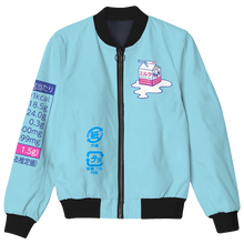 Load image into Gallery viewer, Kawaii Spilled Milk Bomber Jacket