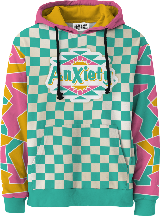 Anxiety All Over Hoodie