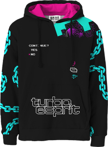 Turbo eSpirit All Over Hoodie