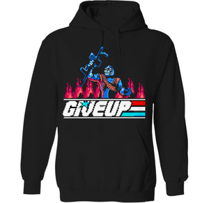 Give Up G.I. Army 8-Bit USA Hoodie