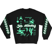 Load image into Gallery viewer, Go Away Glow-in-the-Dark Jumper