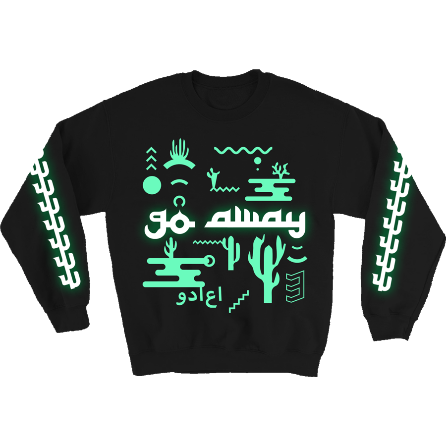 Go Away Glow-in-the-Dark Jumper
