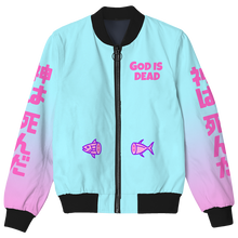 Load image into Gallery viewer, God is Dead Bomber Jacket
