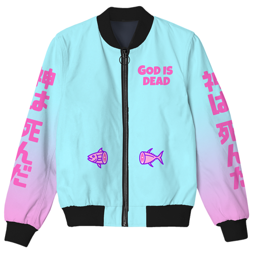 God is Dead Bomber Jacket
