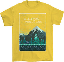 Load image into Gallery viewer, Wish You Were Here T-Shirt by palm-treat.myshopify.com for sale online now - the latest Vaporwave & Soft Grunge Clothing