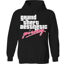 Load image into Gallery viewer, gta piracy palm treat solo cup banana retro 3d hoodie by palm treat