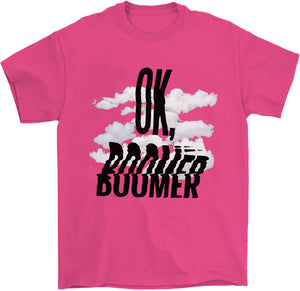 OK, Boomer T-Shirt by palm-treat.myshopify.com for sale online now - the latest Vaporwave & Soft Grunge Clothing