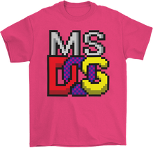 Load image into Gallery viewer, MS-DOS 8 Bit T-Shirt
