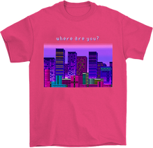 Load image into Gallery viewer, Where Are You? 8 Bit T-Shirt