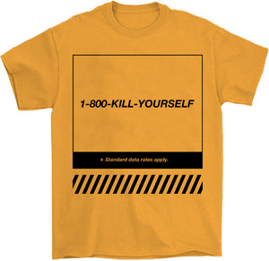 Kill yourself T-Shirt grungewave satire