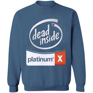 White Out Dead Inside Jumper