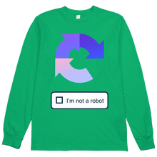 Load image into Gallery viewer, I'm Not a Robot L/S Tee