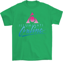 Load image into Gallery viewer, Illuminati Online Cult T-Shirt