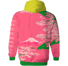 Load image into Gallery viewer, Lake Kawaguchi All Over Hoodie