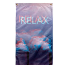 Load image into Gallery viewer, Relax Tapestry by palm-treat.myshopify.com for sale online now - the latest Vaporwave & Soft Grunge Clothing