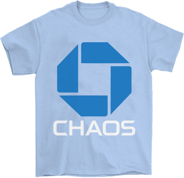 Chaos T-Shirt by palm-treat.myshopify.com for sale online now - the latest Vaporwave & Soft Grunge Clothing