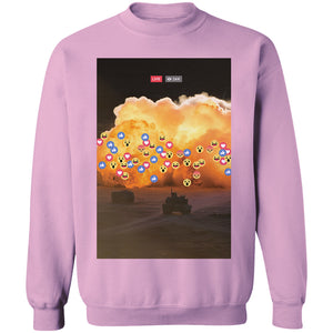 Live React Crewneck Jumper