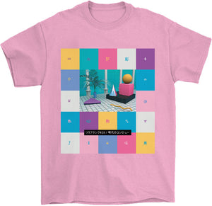 Lisa Frank 420 T-Shirt by palm-treat.myshopify.com for sale online now - the latest Vaporwave & Soft Grunge Clothing
