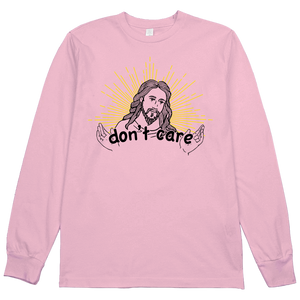 Starburst Jesus Don't Care L/S Tee