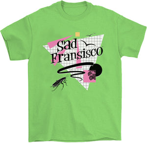 Sad Fransisco T-Shirt by palm-treat.myshopify.com for sale online now - the latest Vaporwave & Soft Grunge Clothing